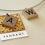 Vintage Scrabble pendant