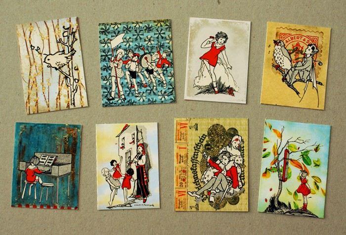 Storybook stickers - set 1