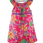 CLEARANCE... Fuschia Tropical Floral Sundress