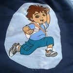 Toddler's art smock, Go Diego Go! T10