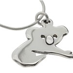 Koala Sterling Silver Necklace - Free Shipping!