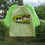 Art smock for 5 - 8 year old - cows. M9.