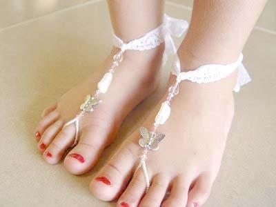 Kids Barefoot Sandals She Shimmers Madeit Com Au