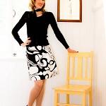 Funky Retro A-line Skirt