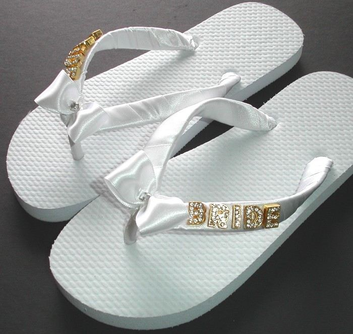 679f2f614fb43 BRIDE Thongs (Flip Flops)