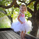 Vintage Shabby White Tutu - Baby to Child