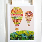 Hot Air Balloons Print