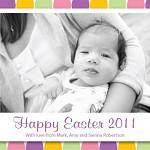 Printable Custom Happy Easter Photo Card