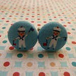 Sailor cufflinks