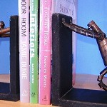 I Like BOOKS;-BOOKENDS - HOME DECOR- COLLECTIBLE  Figurines