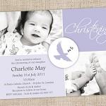 Printable Boys or Girls Christening/Baptisim Invitation