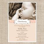 Printable Girls Christening/Baptisim Invitation