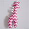 Pink Chevron Giraffe Tag Toy