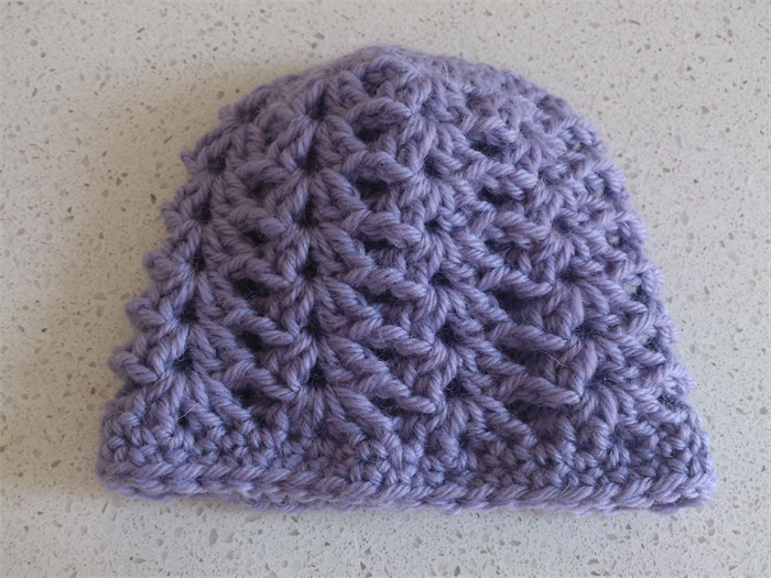how to make a shell stitch crochet hat