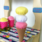Ice Cream Cone- Felt Play Food