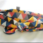 Organic Knot headband / knotted headband / top knot in Bubblegum