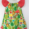 GIRLS DRESS- In the woods- size 4