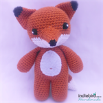 Crochet Fox Toy - Amigurumi