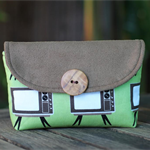 Cute retro pouch