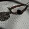 Winter Sparrow SALE metal decorative fillagree bronze bird amber Swarovski