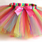 Little Girls Handmade Rainbow Tutu. Perfect for your little ballerina or fairy.