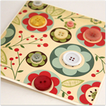 buttons blank card we love buttons