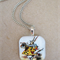 White Rabbit Pendant Necklace