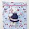 Handmade Bluebird Print Toy/Gift/Storage Drawstring Bag