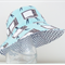 Boys summer hat in funky TV fabric