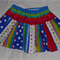 Size 3-4 Clown Skirt and Top Costume