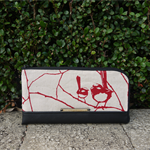 Wallet - Wrens - Deep Red