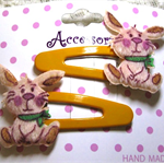 Cute Easter Bunny Snap Clips