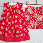 flower sugar  dress & bloomers