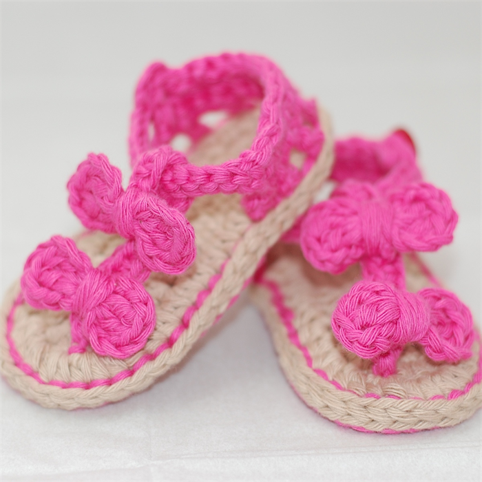 Baby Shoes, 0 to 6 months, Crochet, Booties, Pink Shoes, Sandals ...