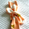Organic Knot headband / Turban / hair wrap / knotted headband / top knot Peach