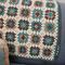 Crocheted baby blanket  - Pure wool