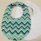 "BABY to TODDLER BIB ""chevron"""