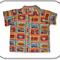 CLEARANCE... Printed Boys Casual Shirt