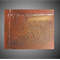 EVOLUTION- Original Abstract Canvas Painting, texture copper gold