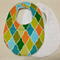 "BABY to TODDLER BIB ""diamond"""