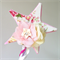 Garden Flower Fairy Wand. Ivory, white, rose and light pink.