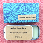 Grapefruit and Lime Natural Lip Balm, FREE SHIPPING
