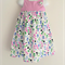 Size 3 Dot Flower Party Dress