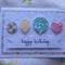 Handmade Birthday Ballons Card