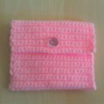 Crochet Mini Purse in Baby Pink