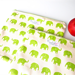Set of 2 Large and Small Wet Bag Pouches - Choose Your Elephant Colour!