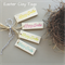 clay swing tags - Happy Easter (set of 4)