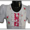 SALE... SIZE 2 Roses Top and Shirt Set