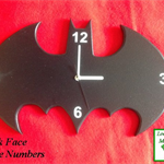 Unique Australian Clock - Batman - Special Occasion or Birthday Gift