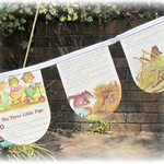 Golden Book Bunting Goldilocks Three Bears Little Pigs Kittens Nursery Rhymes